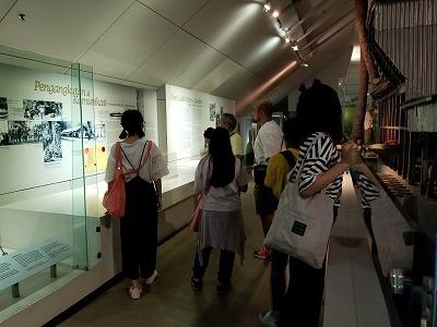 マレーシア国立博物館にて
